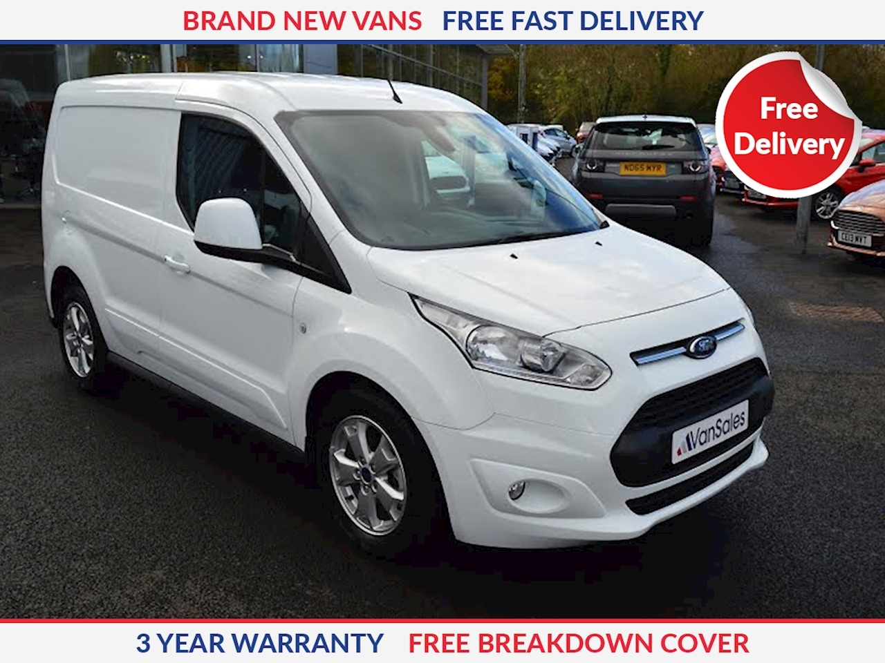 Ford Transit Connect L1 1.5 TDCI 200 Limited 120ps SWB Panel Van