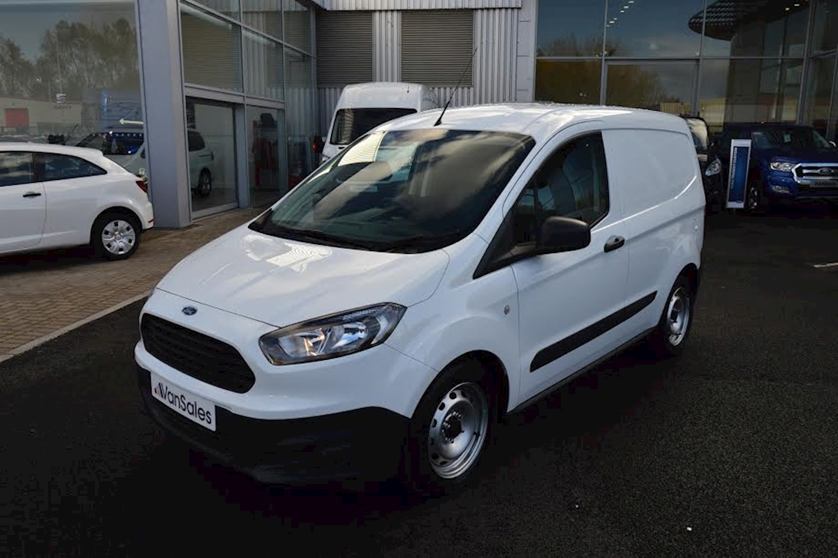 used ford transit courier swb 1 5 tdci 75ps base panel van 2018 van sales uk bristol. Black Bedroom Furniture Sets. Home Design Ideas