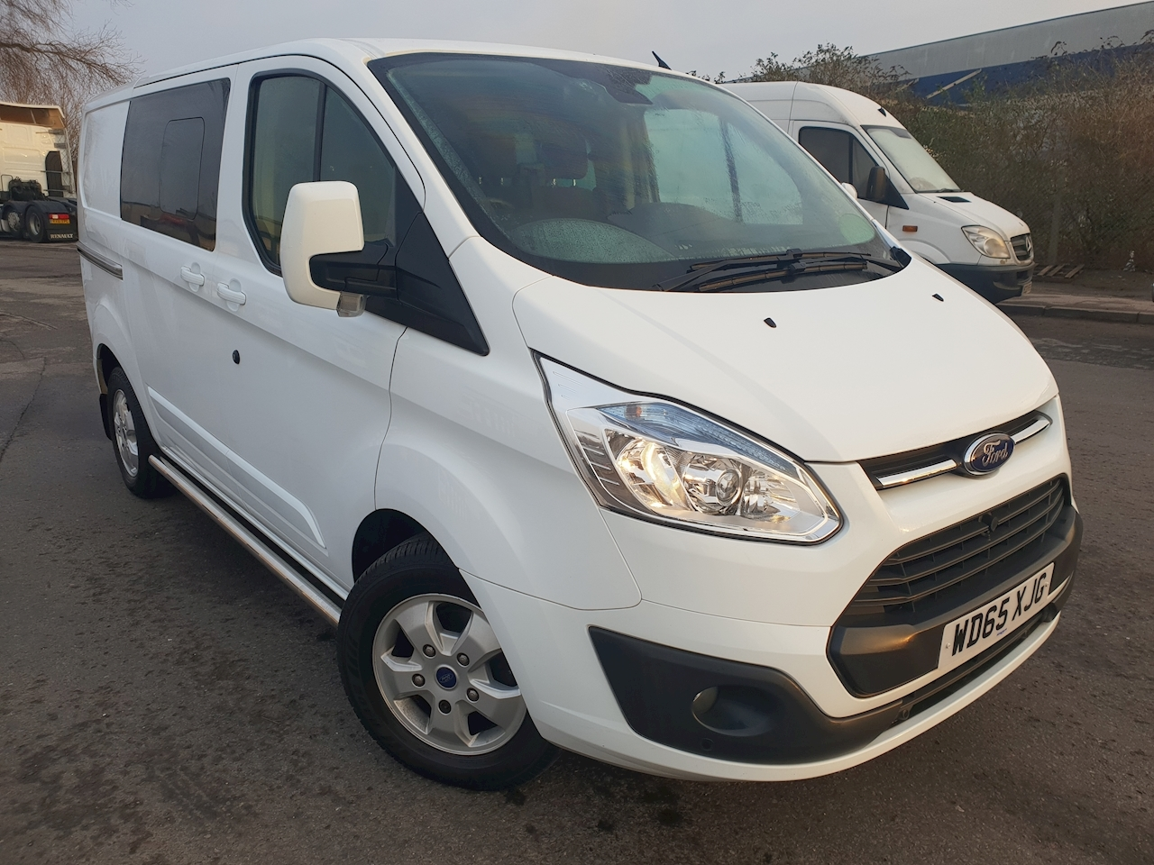 Ford Transit Custom 290 L1 2.2 TDCi 125ps Low Roof Double Cab Limited Crew Van DIESEL FWD
