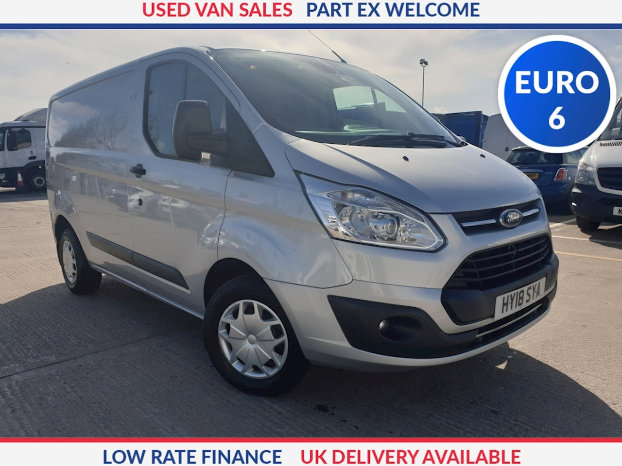 Ford Transit Custom 270 L1 2.0 TDCi 105ps Low Roof Trend Van DIESEL FWD