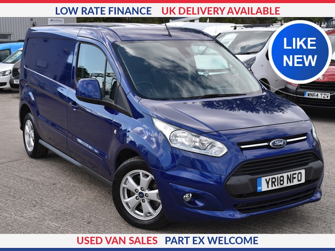 Ford Transit Connect 240 L2 1.5 TDCi 120ps Limited Van DIESEL