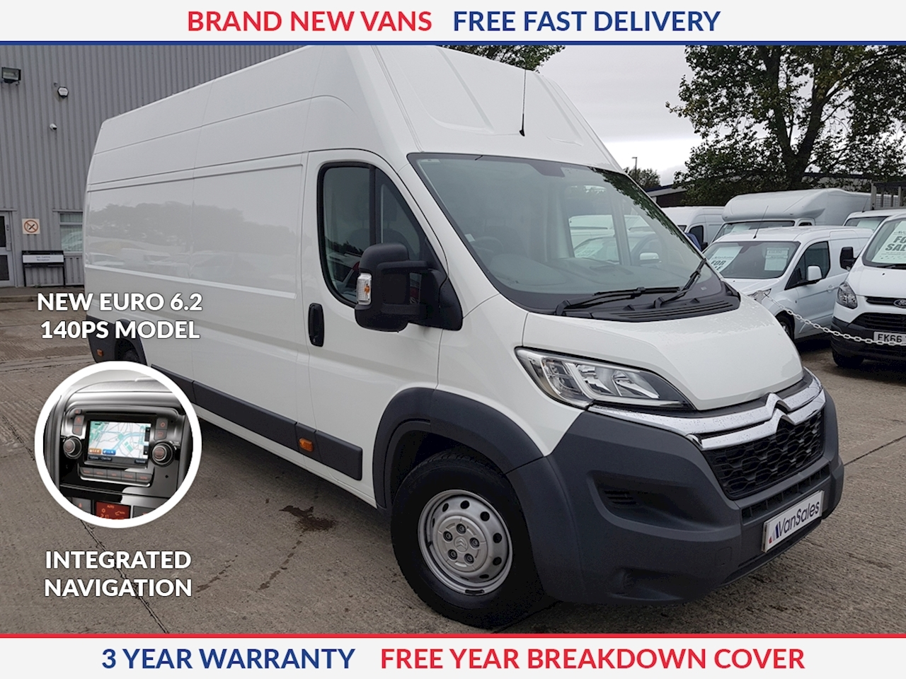 Citroen Relay L4 H3 2.2 HDI 140ps Enterprise Euro 6.2 **NEW MODEL**