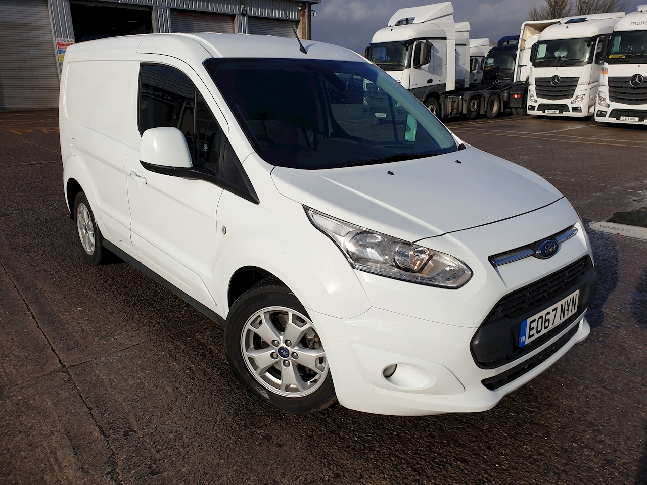 Ford Transit Connect 200 L1 1.5 TDCi 120ps  Euro 6 Limited Van DIESEL