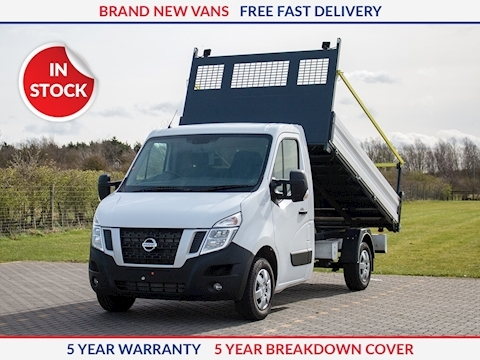 Nissan NV400 L2 130PS SE Tipper with Comfort Pack & Fall Arrest