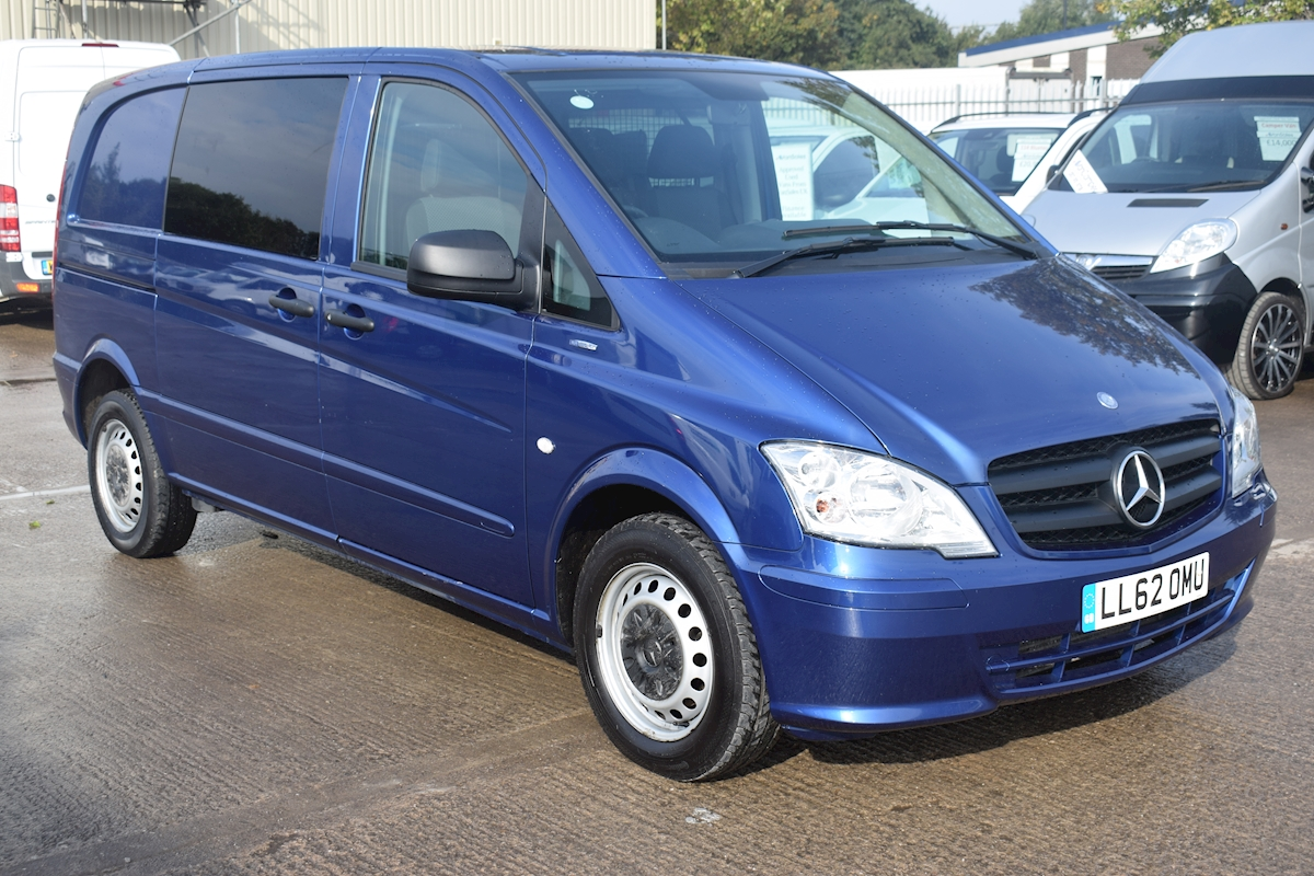 ce4c144fdf Used Mercedes Vito 113 Blue Efficiency Dualiner Compact SWB 2012 ...