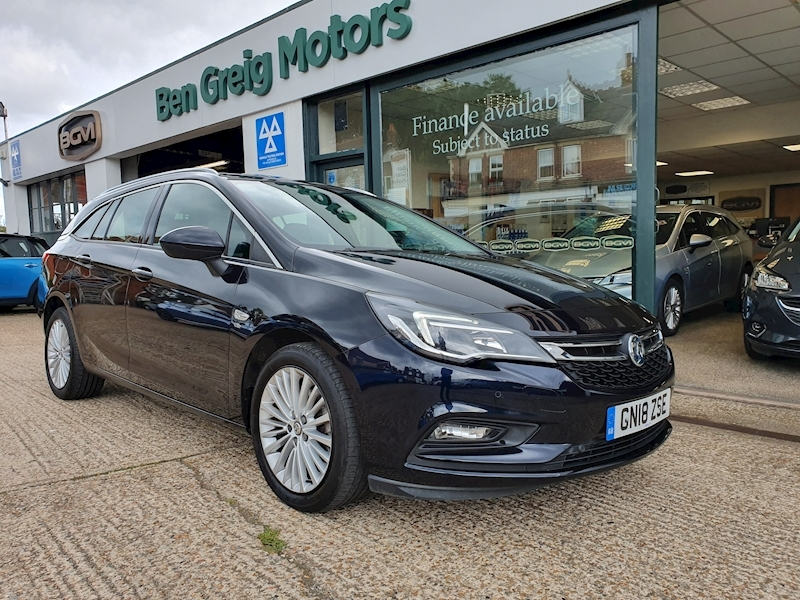 Astra Elite Nav Estate 1.4 Manual Petrol
