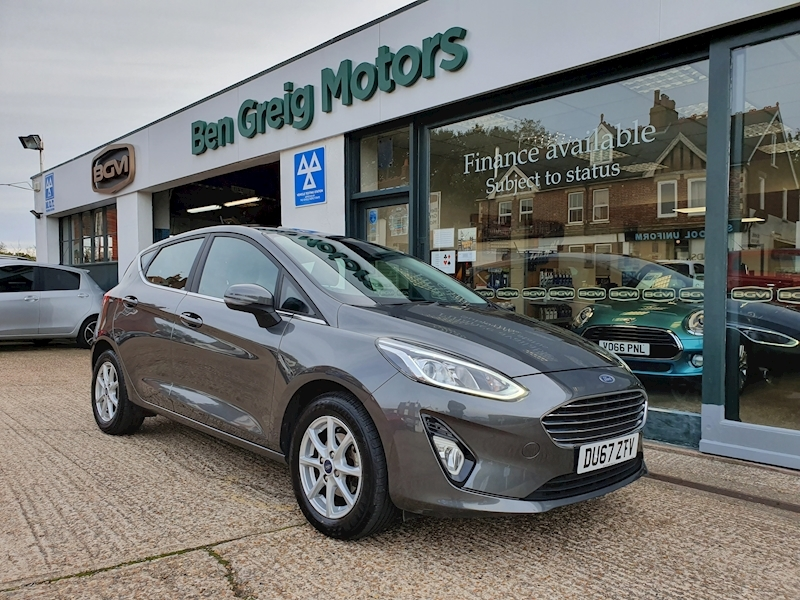 Fiesta Zetec Hatchback 1.1 Manual Petrol