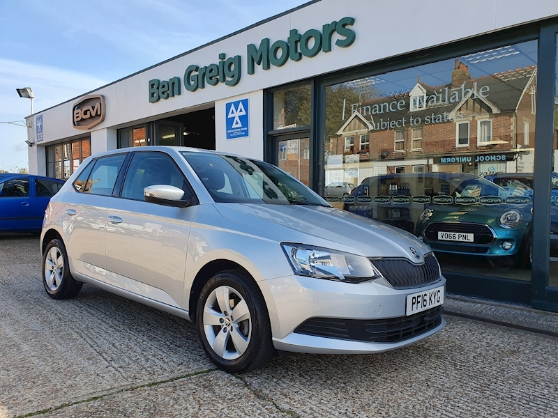 Fabia Se Tsi Hatchback 1.2 Manual Petrol