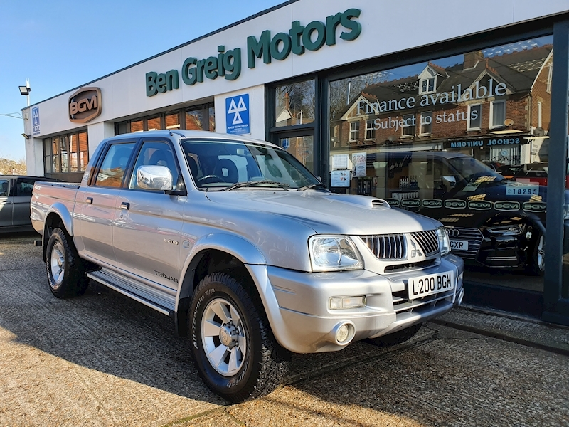 L200 4Wd Trojan Lwb Dcb 2.5 2dr Pick-Up Manual Diesel