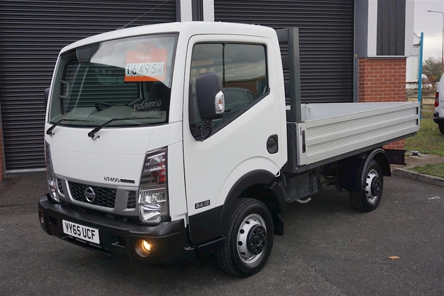 Nt400 Cabstar 34.12 2.5DCi Alloy Bodied Dropside in White