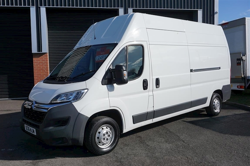 Relay 35 L3h3 Enterprise 2.2Hdi LWB Hi Roof Panel Van in White