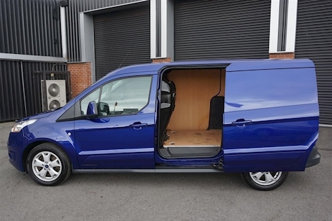Transit Connect 240 Limited L2 1.6TDCi LWB Panel Van in Deep Impact Blue