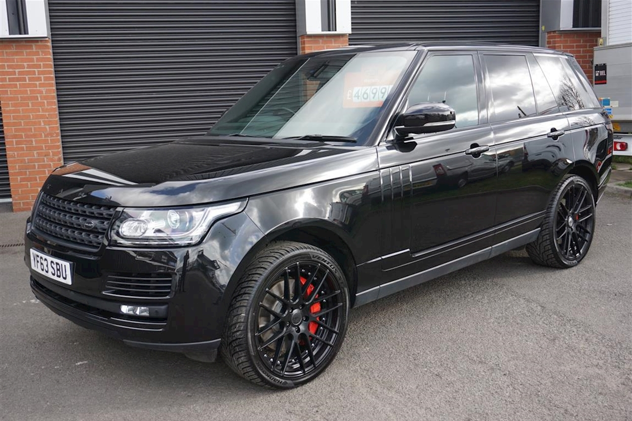 Land Rover Range Rover Sdv8 Vogue Khan Edition