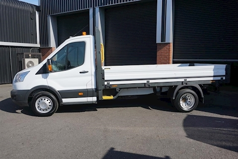 Transit 350 LWB Single Cab 2.2TDCi 2dr Alloy Bodied LWB Dropside in White