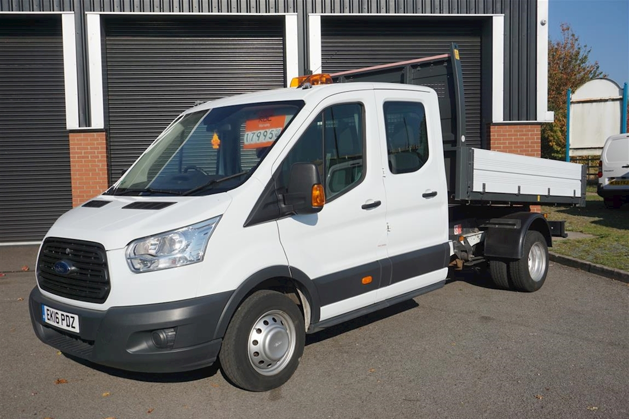 Ford Transit 350 L3 Double Cab