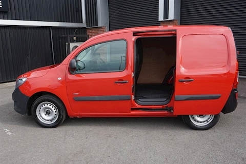 Citan 109 1.5Cdi BlueEfficiency Panel Van in Red
