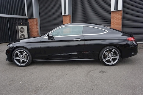 C Class C 220D AMG Line Premium 2.1CDi  2dr Automatic Coupe in Black