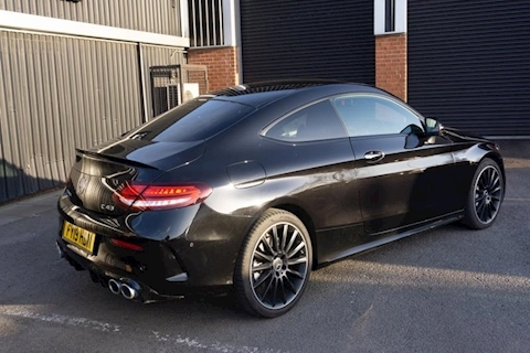 C43 AMG 4Matic Premium Plus 3.0 V6 BiTurbo 2dr Coupe Automatic in Black