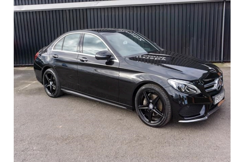 C Class AMG Line Premium 2.1CDi G-Tronic+ 4dr Saloon  in Black with Night Pack