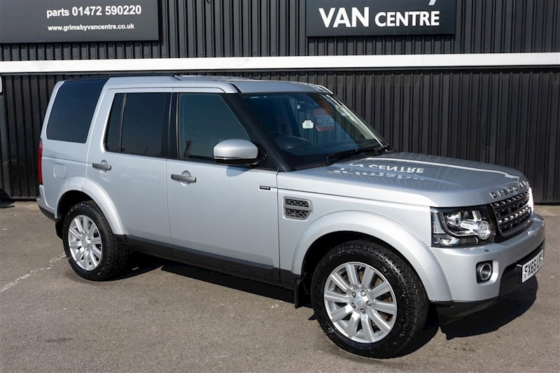 Discovery 4 SE Commercial 3.0SV6 Automatic in Silver