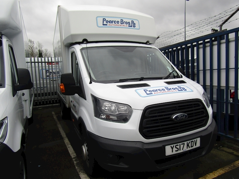 Ford Transit 350 Luton Tail Lift
