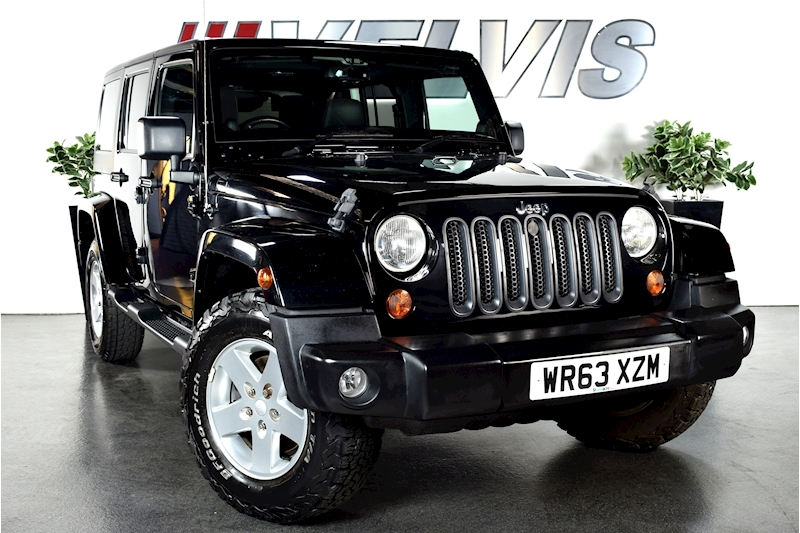 Jeep Wrangler Crd Sahara Unlimited