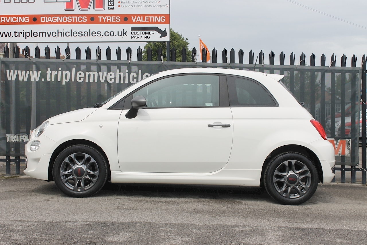 Fiat 500 S Hatchback 1.2 Manual Petrol