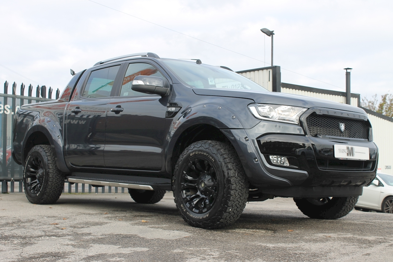Ford Ranger Wildtrak Double Cab Pickup 3.2 Auto Diesel
