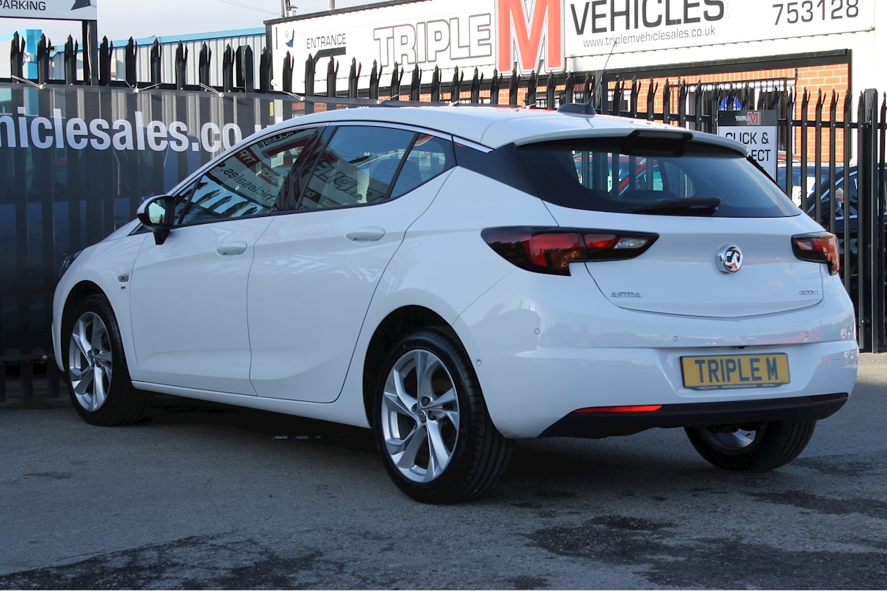 Vauxhall 1.0i Turbo ecoFLEX SRi Hatchback 5dr Petrol (s/s) (105 ps)