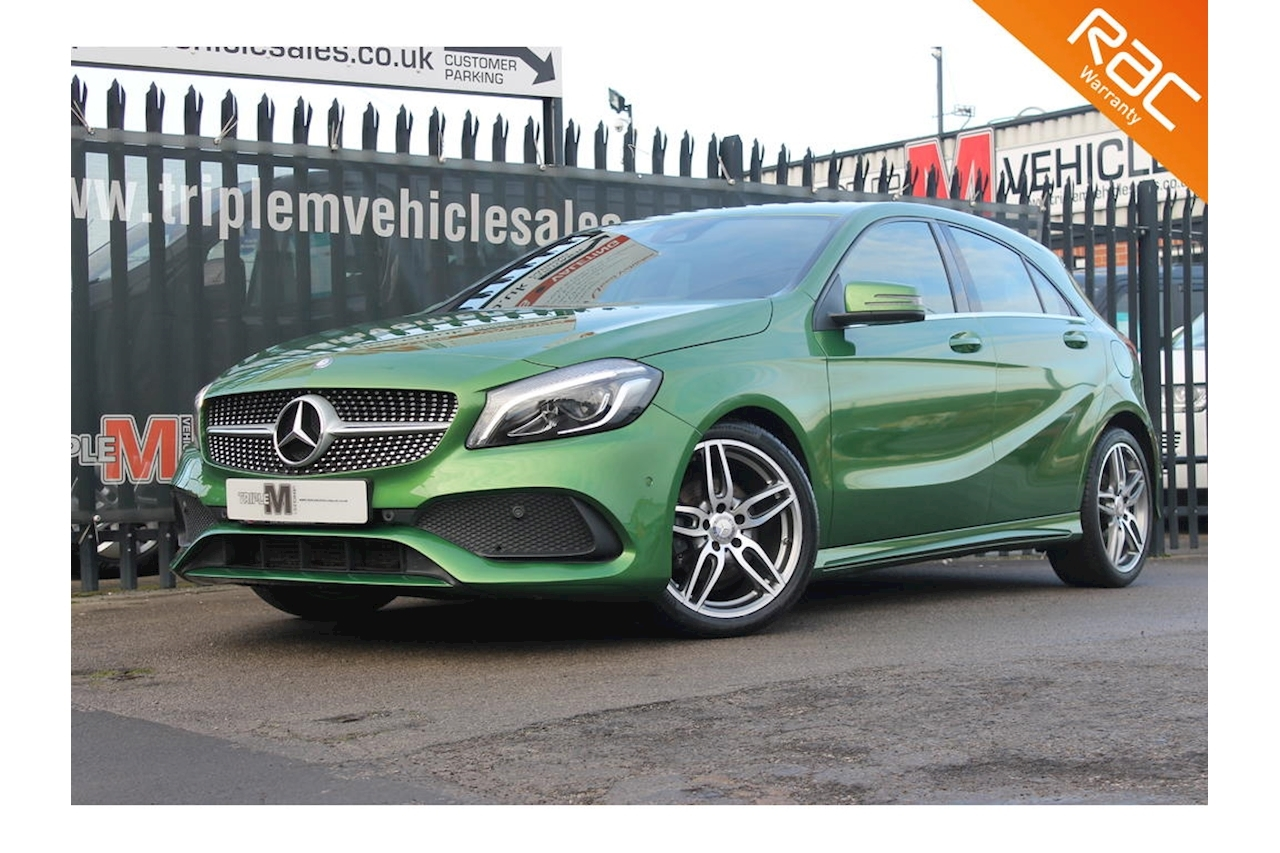 A-Class A 180 Amg Line Premium Hatchback 1.6 Manual Petrol