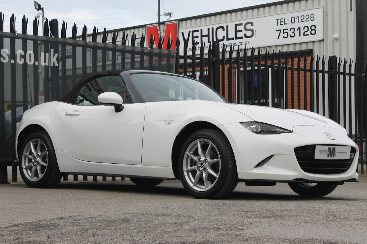 Mx-5 Se-L Nav Convertible 1.5 Manual Petrol