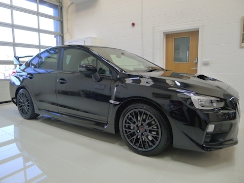 Wrx Sti Type Uk Hatchback 2.5 Manual Petrol