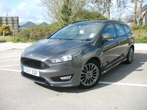Ford Focus ST-Line 1.5TDCi 120PS (SatNav)