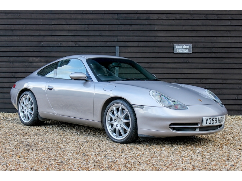 (66) 2001 Porsche 996 Carrera Manual