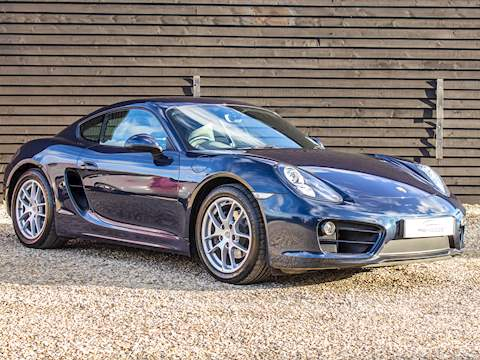 (*) 2013 Porsche Cayman 981 2.7 Manual