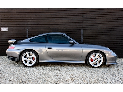 (62) 2004 Porsche 996 Carrera C4S Manual