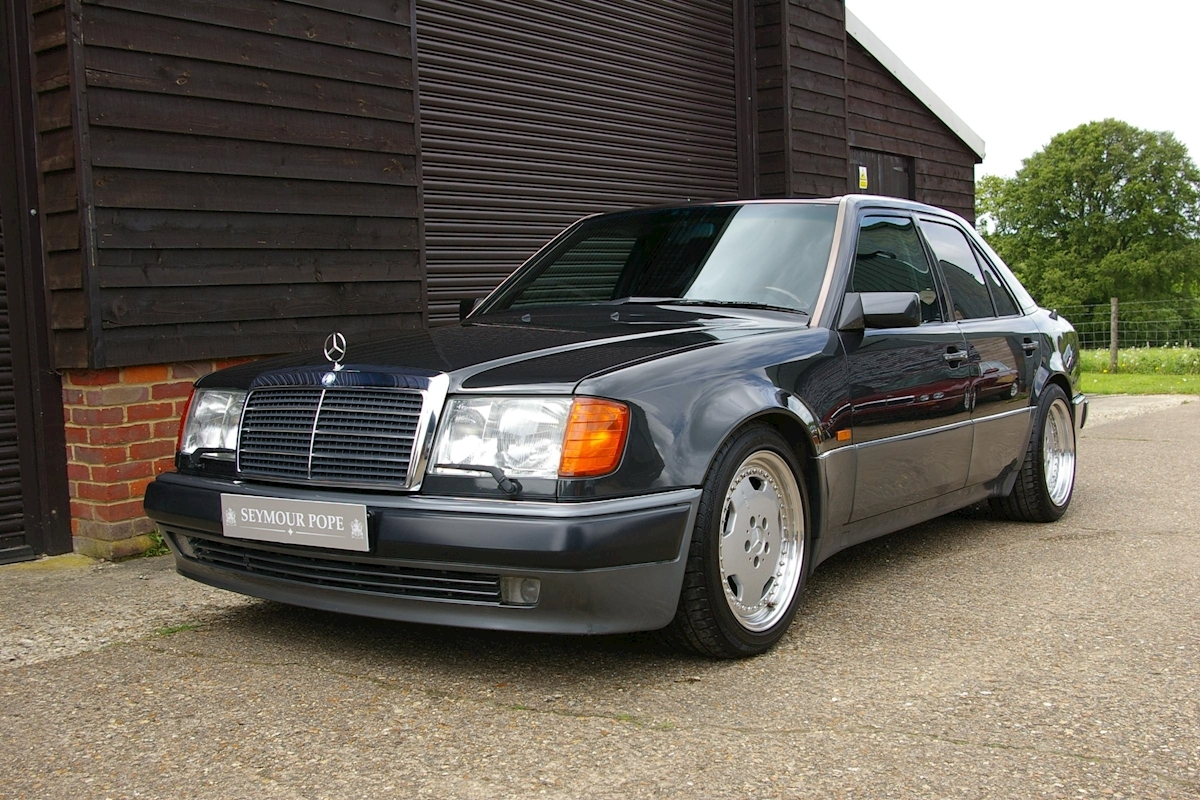 Used mercedes benz w124 500e automatic saloon seymour pope for Mercedes benz b3 service
