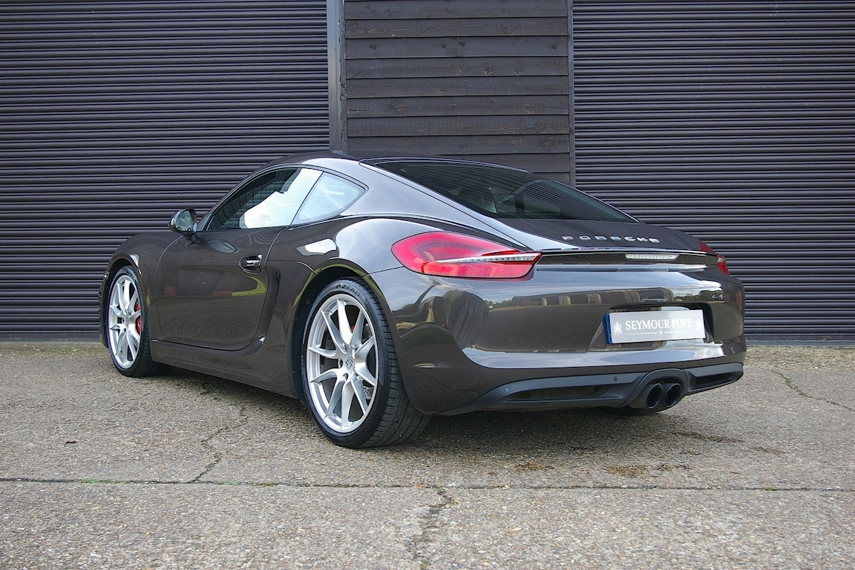 used porsche cayman 981 cayman s 3 4 pdk coupe auto seymour pope. Black Bedroom Furniture Sets. Home Design Ideas
