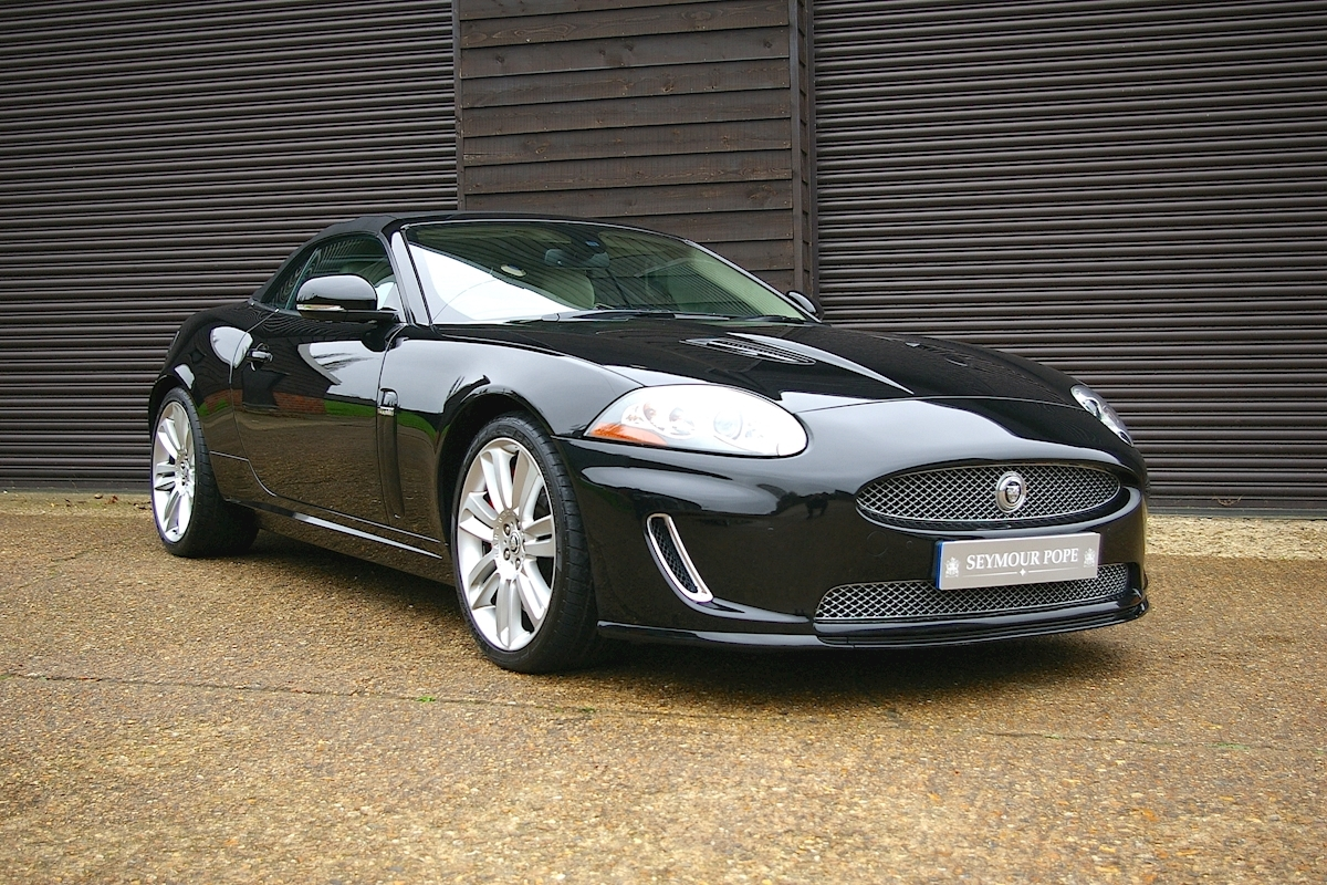 Jaguar Xkr 5 0 V8 Supercharged Convertible