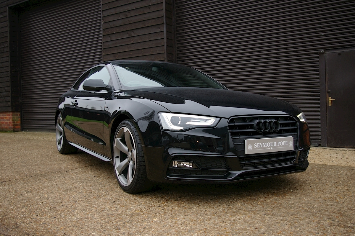 Audi A5 2.0 TDI S-LINE Black Edition Coupe 6 Speed Manual - Large 0