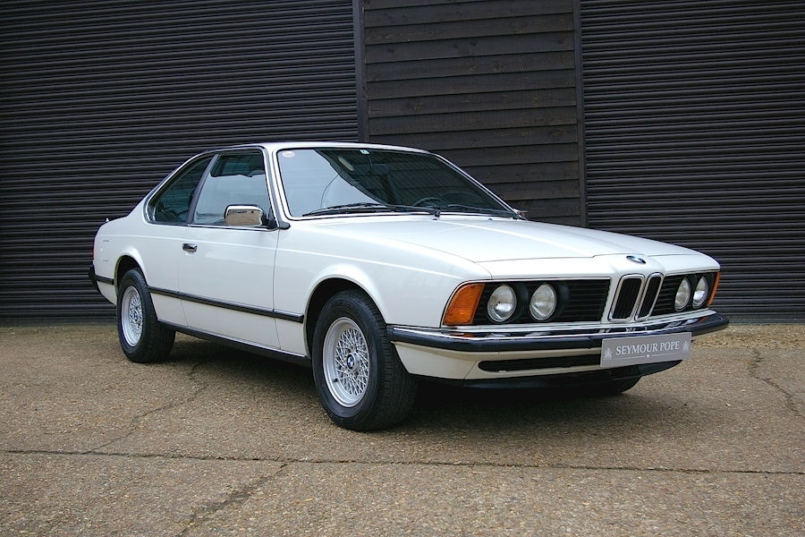 BMW 6 Series E24 633CSI Automatic Coupe LHD