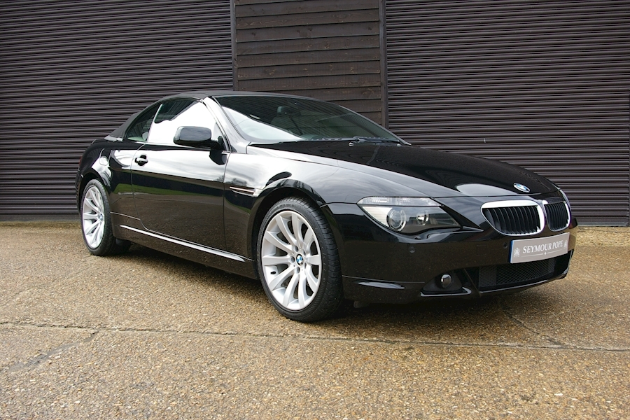 Bmw 6 Series 630I Sport Automatic Convertible