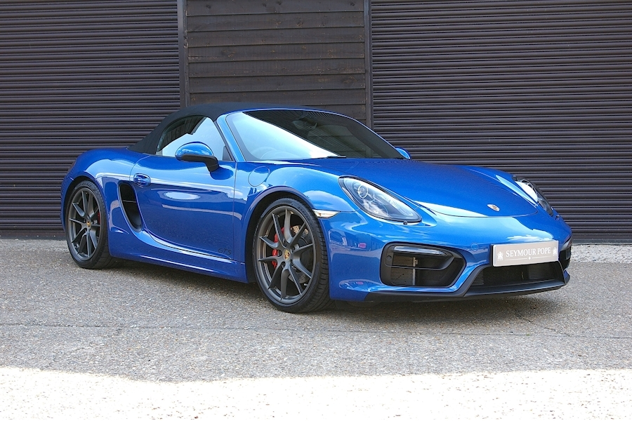 Porsche Boxster 3.4 981 GTS 2dr 6 Speed Manual Roadster