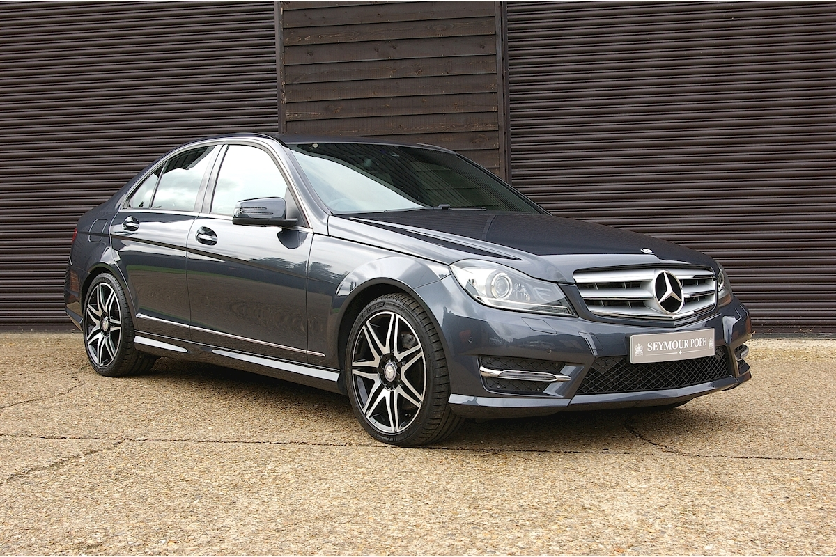 Mercedes C Class C350 Cdi Blueefficiency Amg Sport Plus 7 G-Tronic Automatic Saloon - Large 0