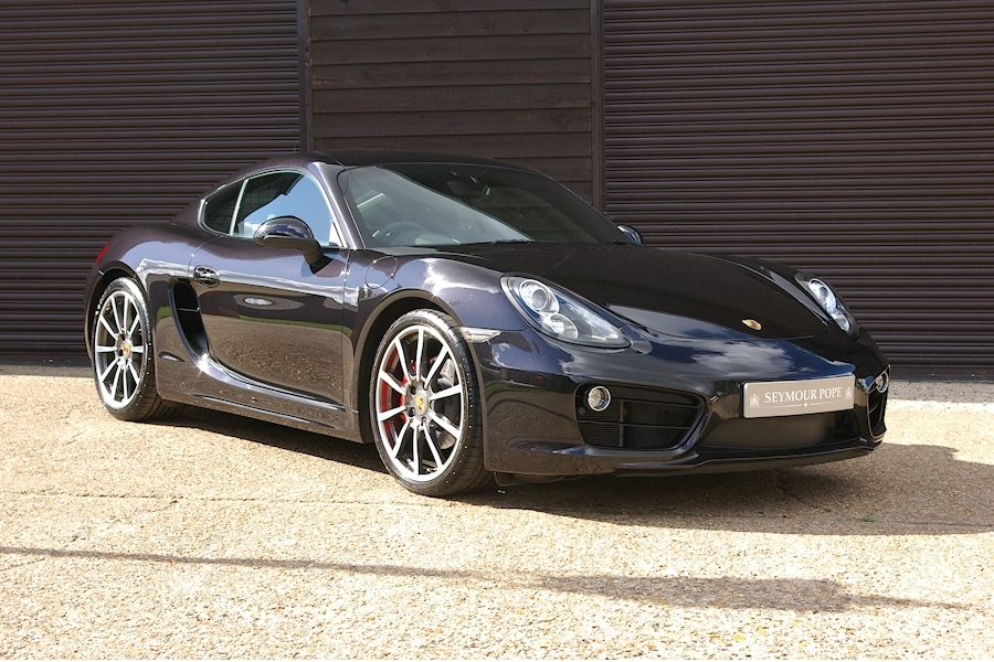 Cayman 3.4 24V S PDK Automatic Coupe 3.4 2dr Coupe Semi Auto Petrol