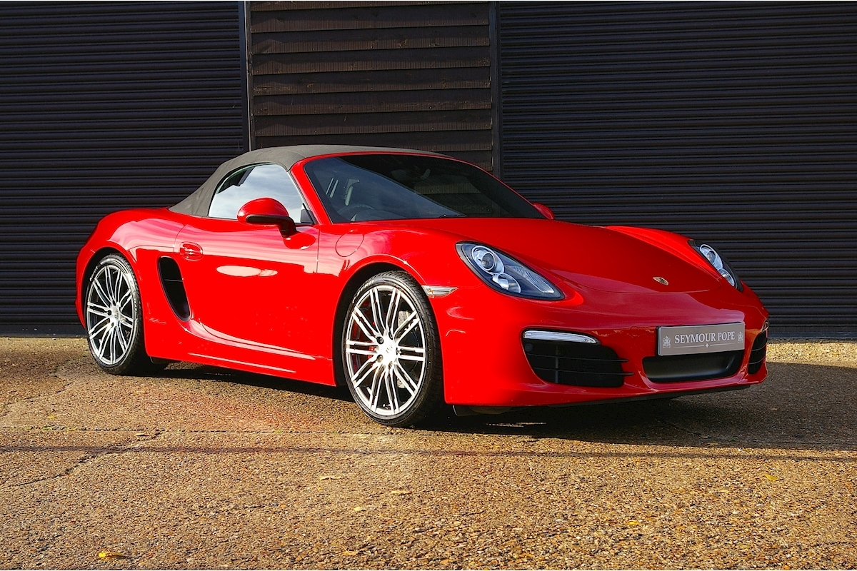 Porsche Boxster 3.4 24V S PDK Roadster - Large 0