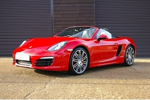 Boxster 3.4 24V S PDK Roadster 3.4 2dr Convertible Semi Auto Petrol