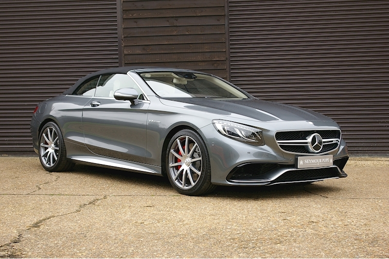 Mercedes-Benz S Class S63 AMG Convertible Automatic