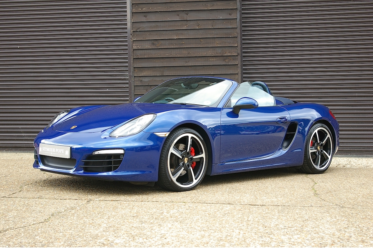Used Porsche Boxster 981 Boxster 3 4 S 24V 6 Speed Manual