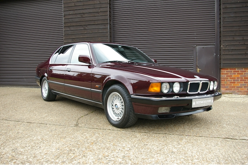 BMW 7 Series E32 740iL Exclusive Edition 7 Automatic Saloon